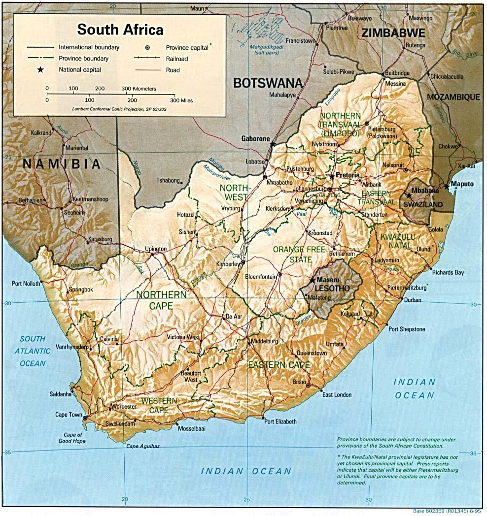 Carte Afrique Du Sud A Imprimer.Carte Afrique Du Sud Carte De Afrique Du Sud