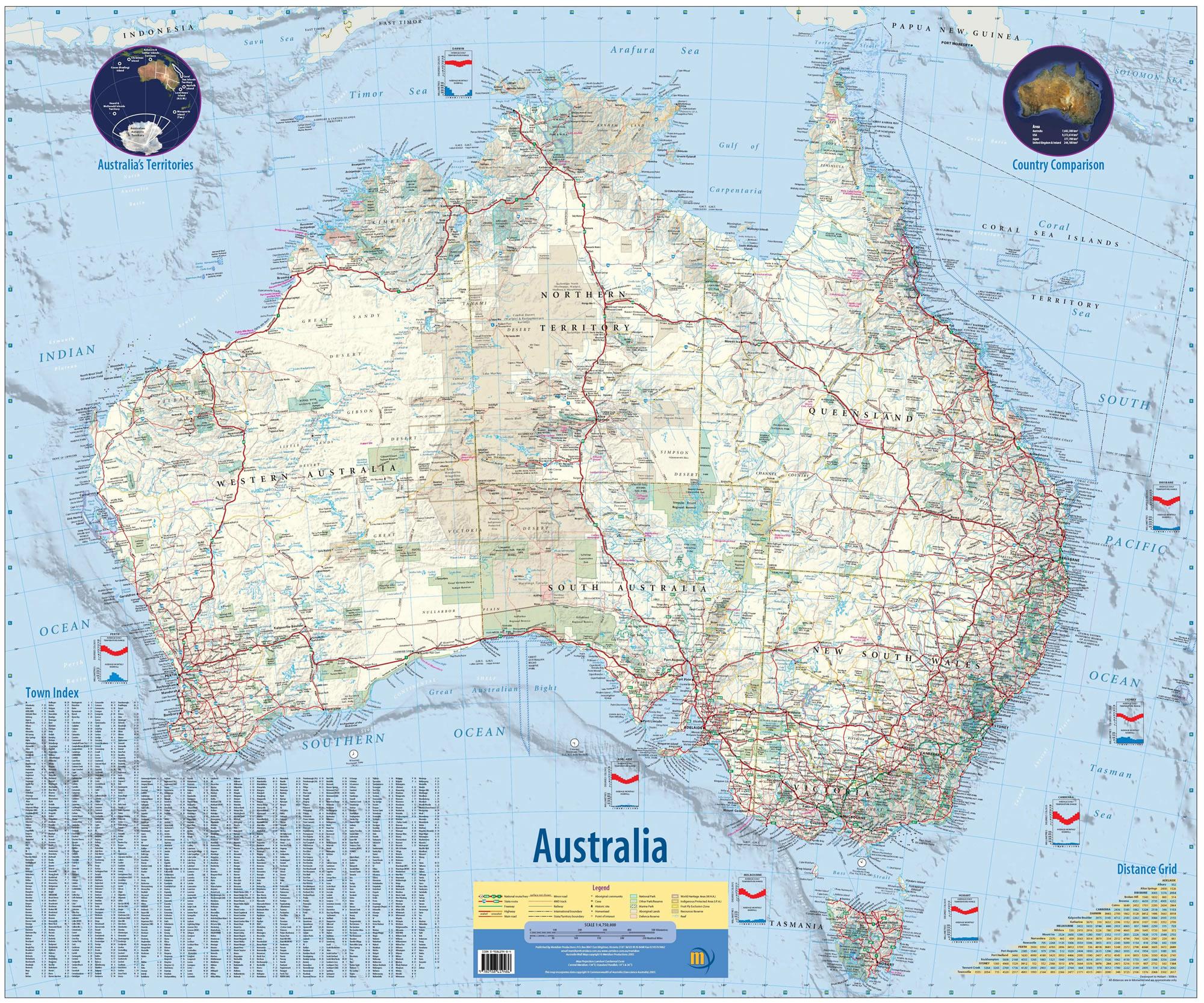 carte australie à imprimer Carte Australie, Carte de Australie