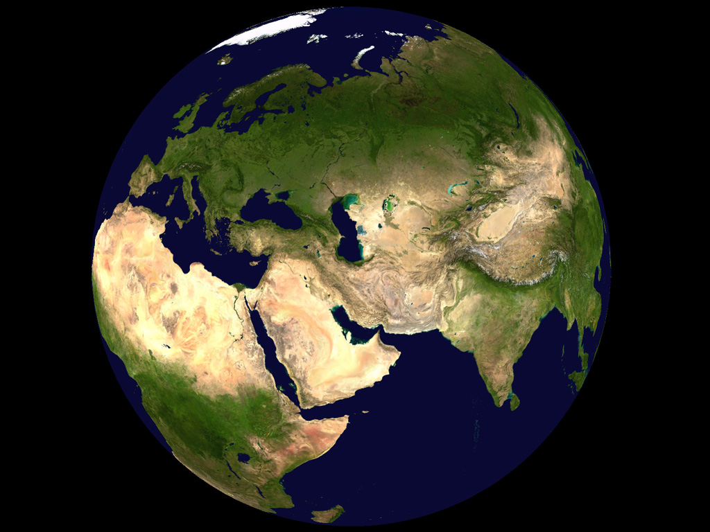 carte du monde 3d, Carte du monde
