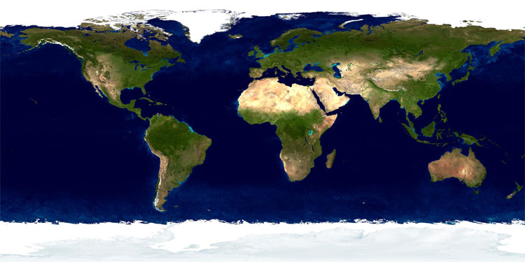 Carte carte monde satellite et map géographie de carte monde satellite