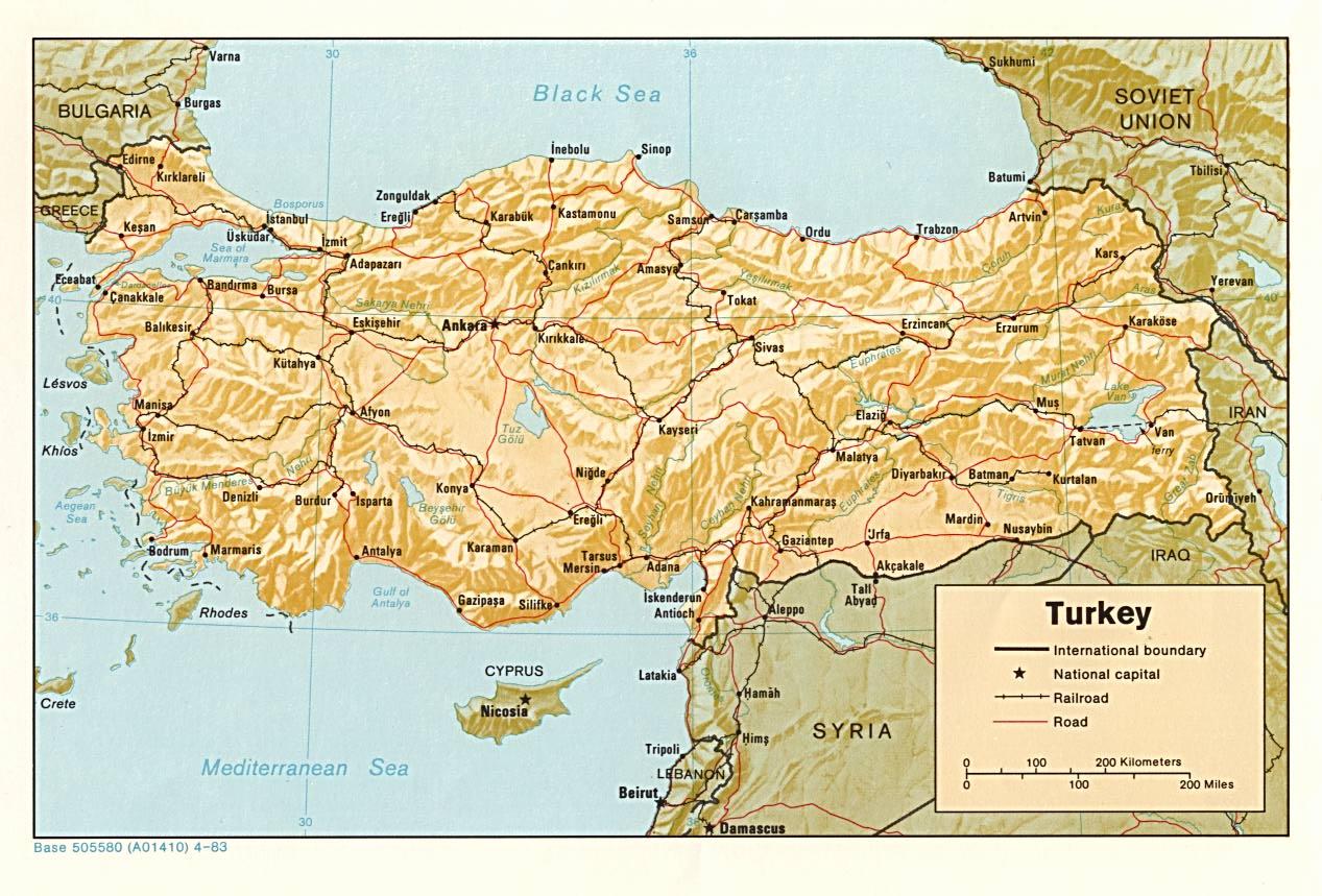 Agrandir carte turquie