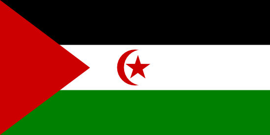Drapeau Sahara occidental