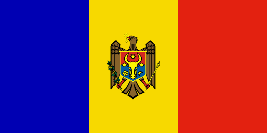 Drapeau Moldavie