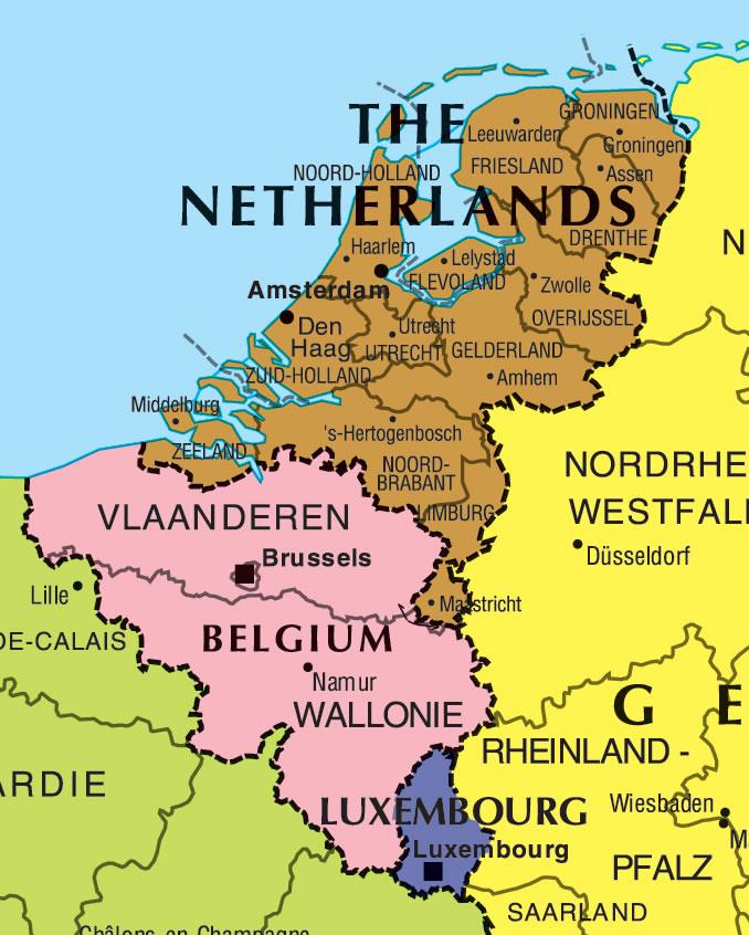 carte belgique pays bas Grande carte Belgique, Grande carte de la Belgique