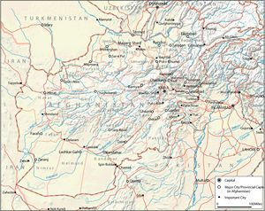 carte afghanistan et map g ographie de afghanistan. Black Bedroom Furniture Sets. Home Design Ideas