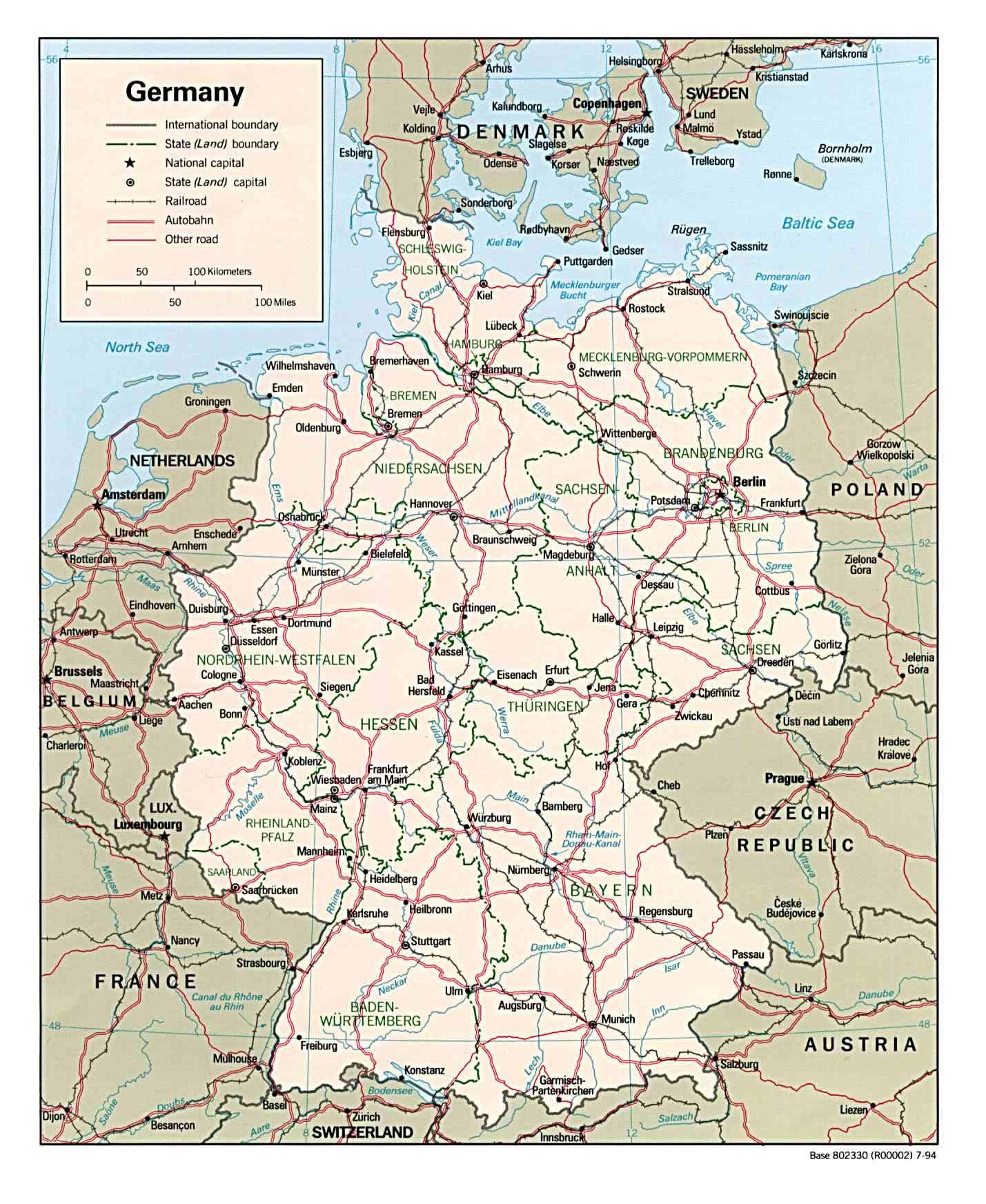 Carte Allemagne Geographique.Archives Des Allemagne Carte Geographique Arts Et Voyages