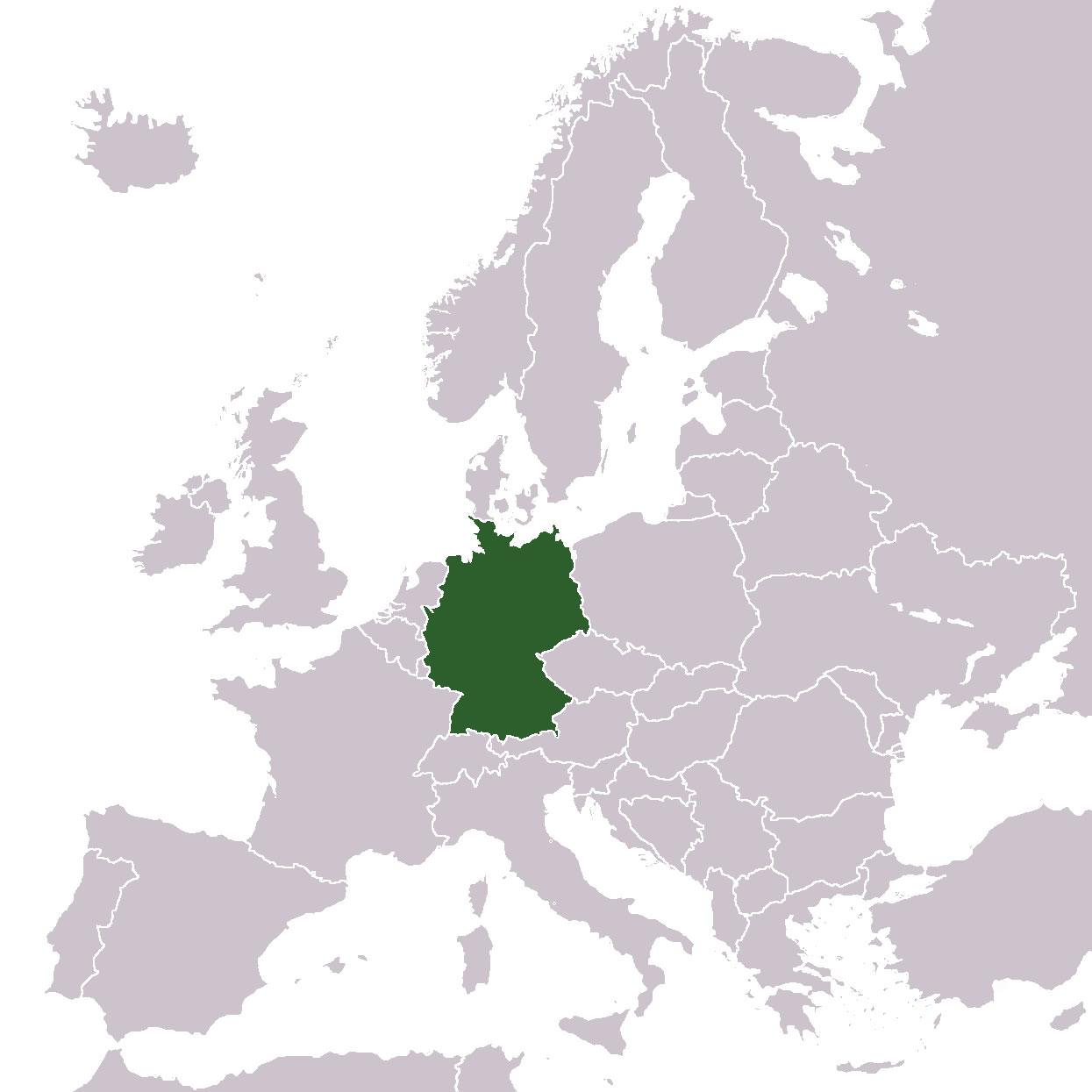 Carte Du Monde Allemagne.Situer Allemagne Sur Carte Du Monde Situer Pays De L