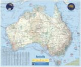 Carte atlas Australie