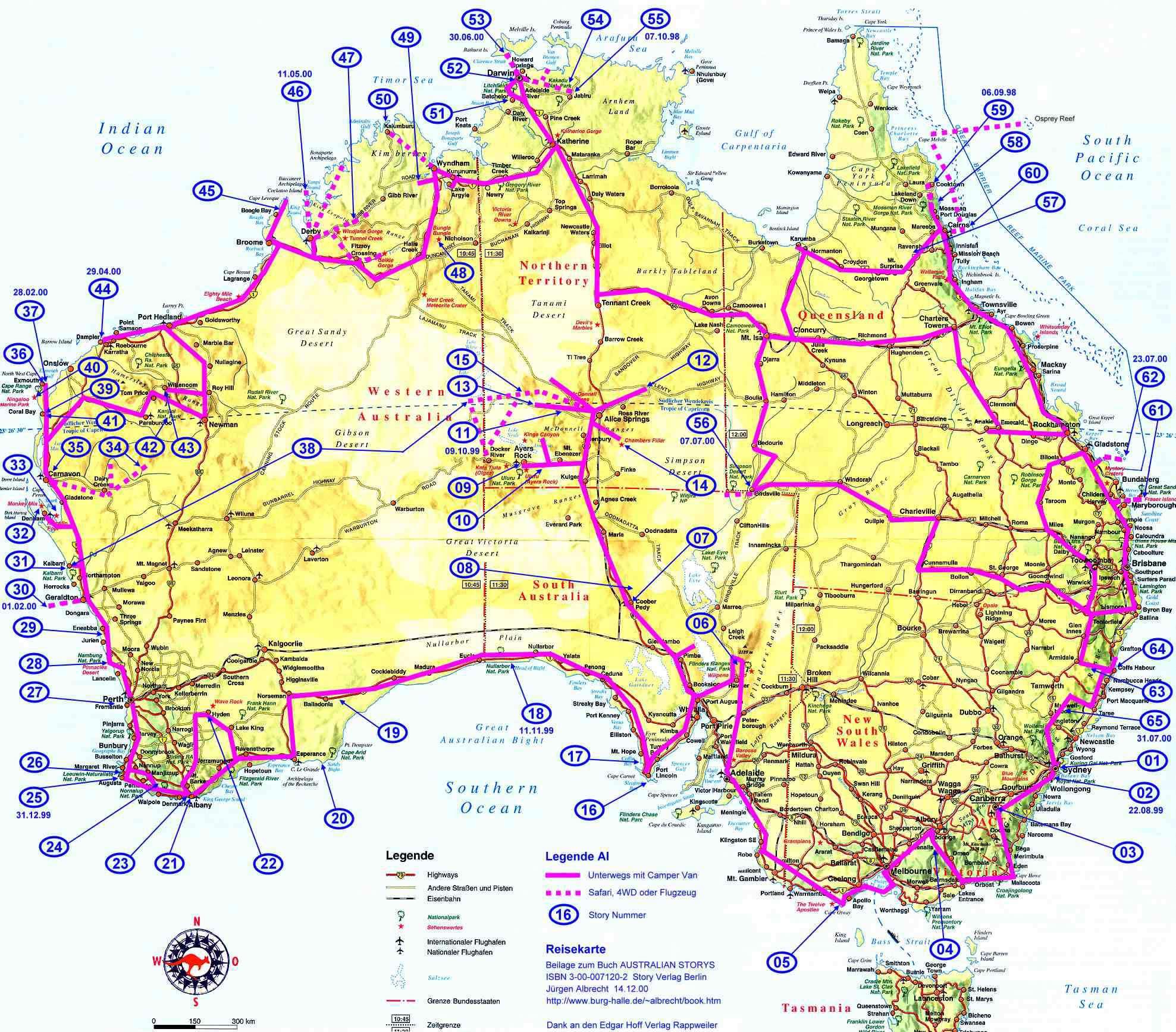 Carte Australie Sud.Carte Routiere Australie Carte Routiere De L Australie