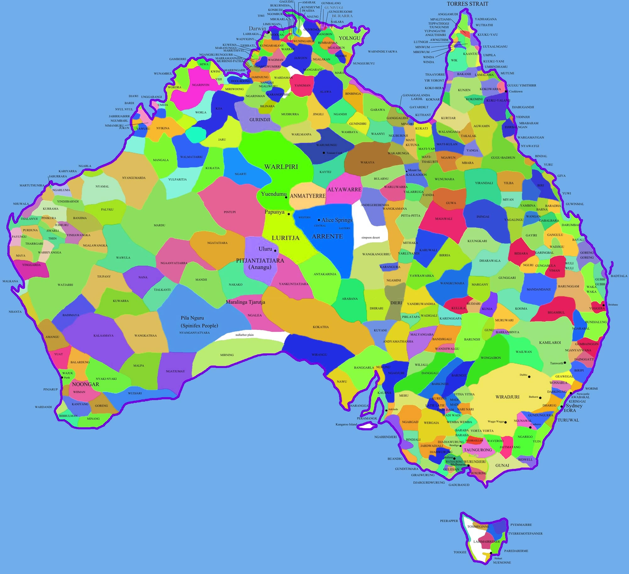 Carte Australie Principales Villes.Carte Des Villes Australie Carte Des Villes De L Australie