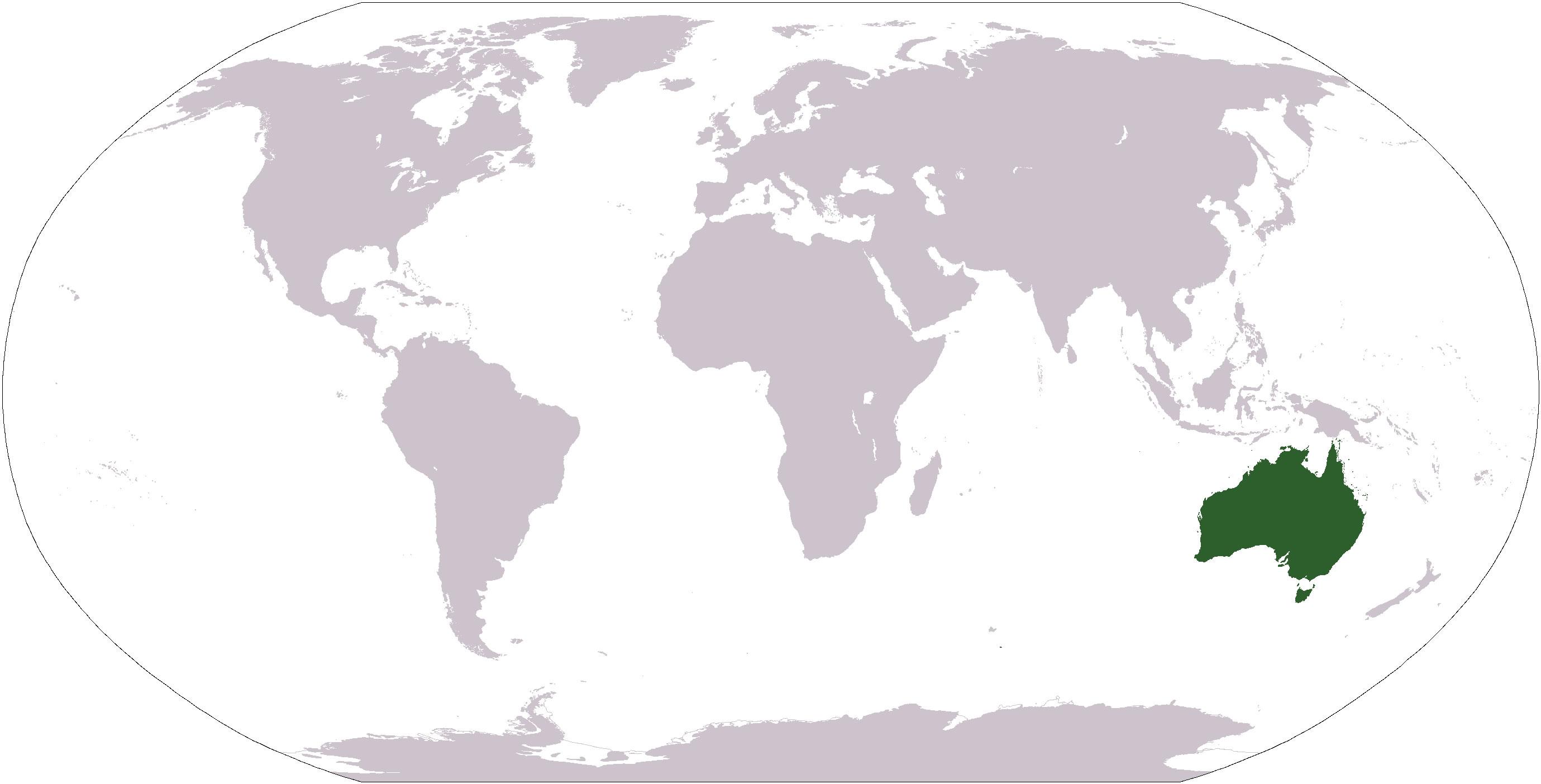 australie-sur-la-carte-du-monde