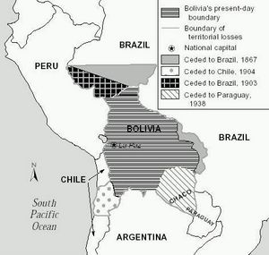 Carte population Bolivie