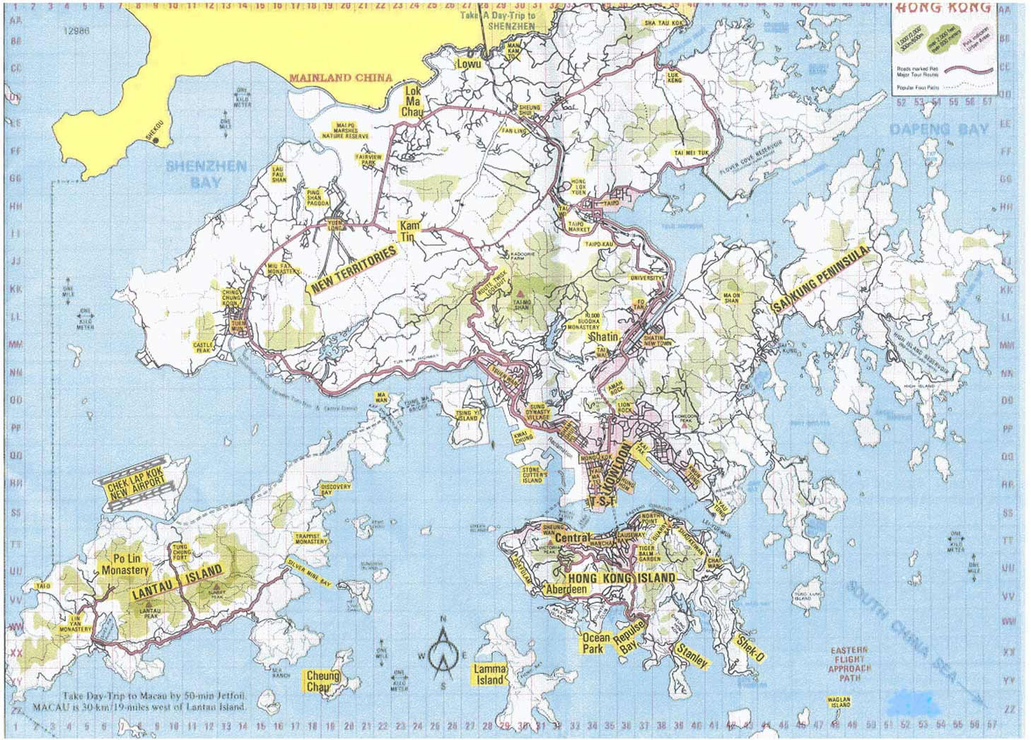 Hong Kong Carte Du Monde.Carte Hong Kong La Carte De Hong Kong