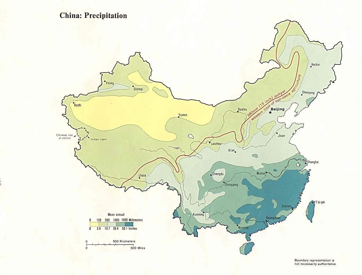 Carte Vegetation Chine.Carte Inondation Chine Carte Des Inondations De La Chine