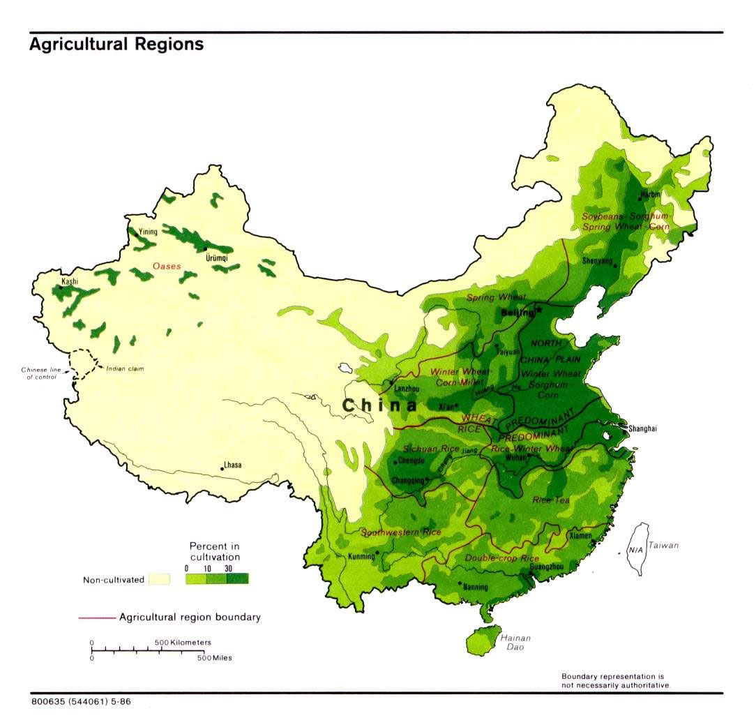 Carte Vegetation Chine.Carte Vegetation Chine Carte Des Vegetations De La Chine