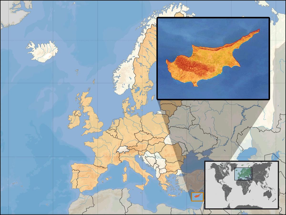 Localisation Chypre Carte Monde.Situer Chypre Sur Carte Du Monde Situer Pays De Chypre Sur
