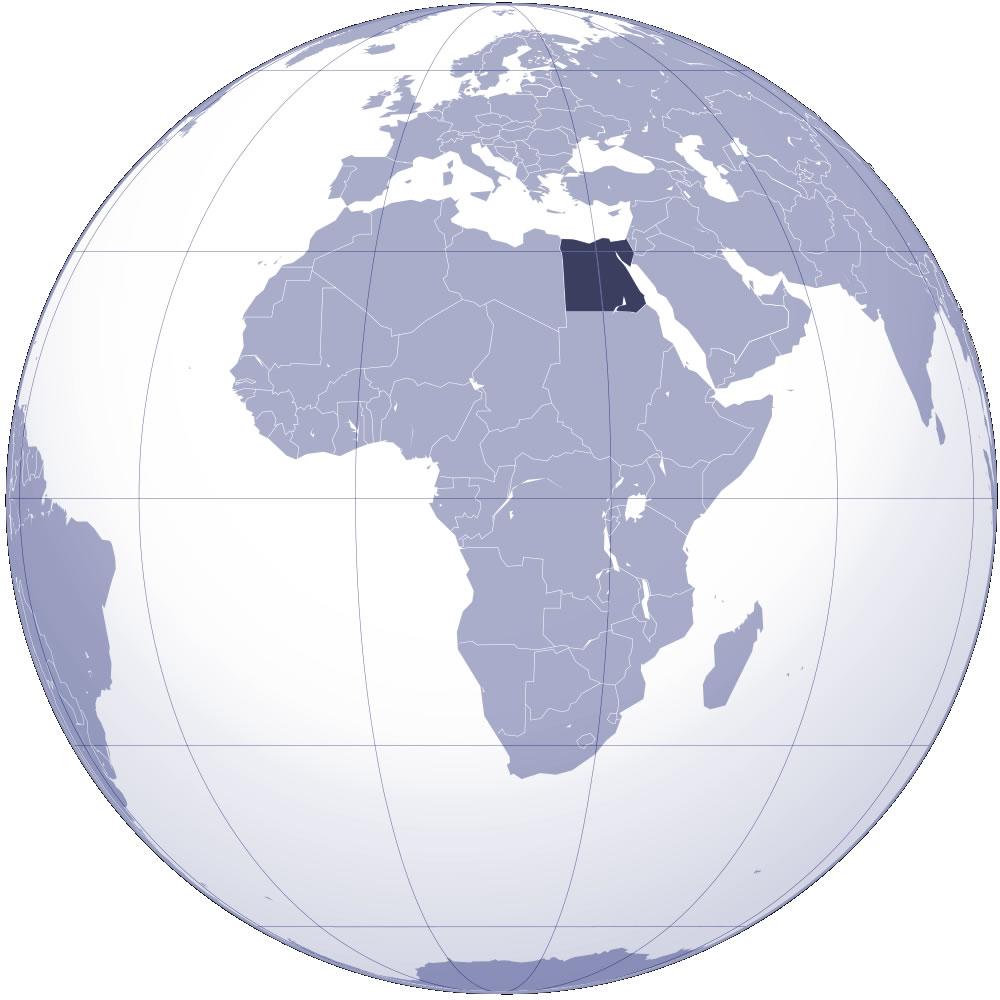 egypte-sur-la-carte-du-monde