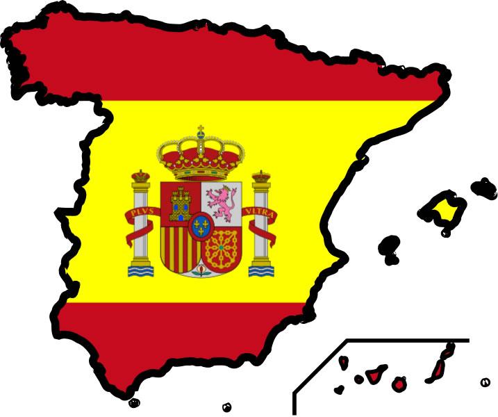 imprimer carte drapeaux espagne - Drapeau Espagnol A Imprimer