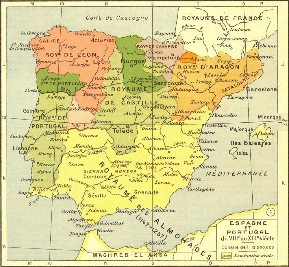 Carte postale Espagne, Carte postale de l'Espagne