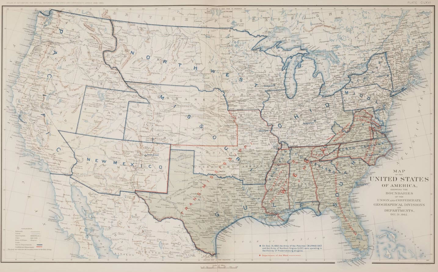 Maps Of The USA The United States Of America Political United - Map of us states in 1800s