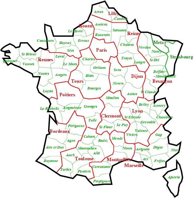 Carte De France Avec Departement Et Ville A Imprimer   My blog