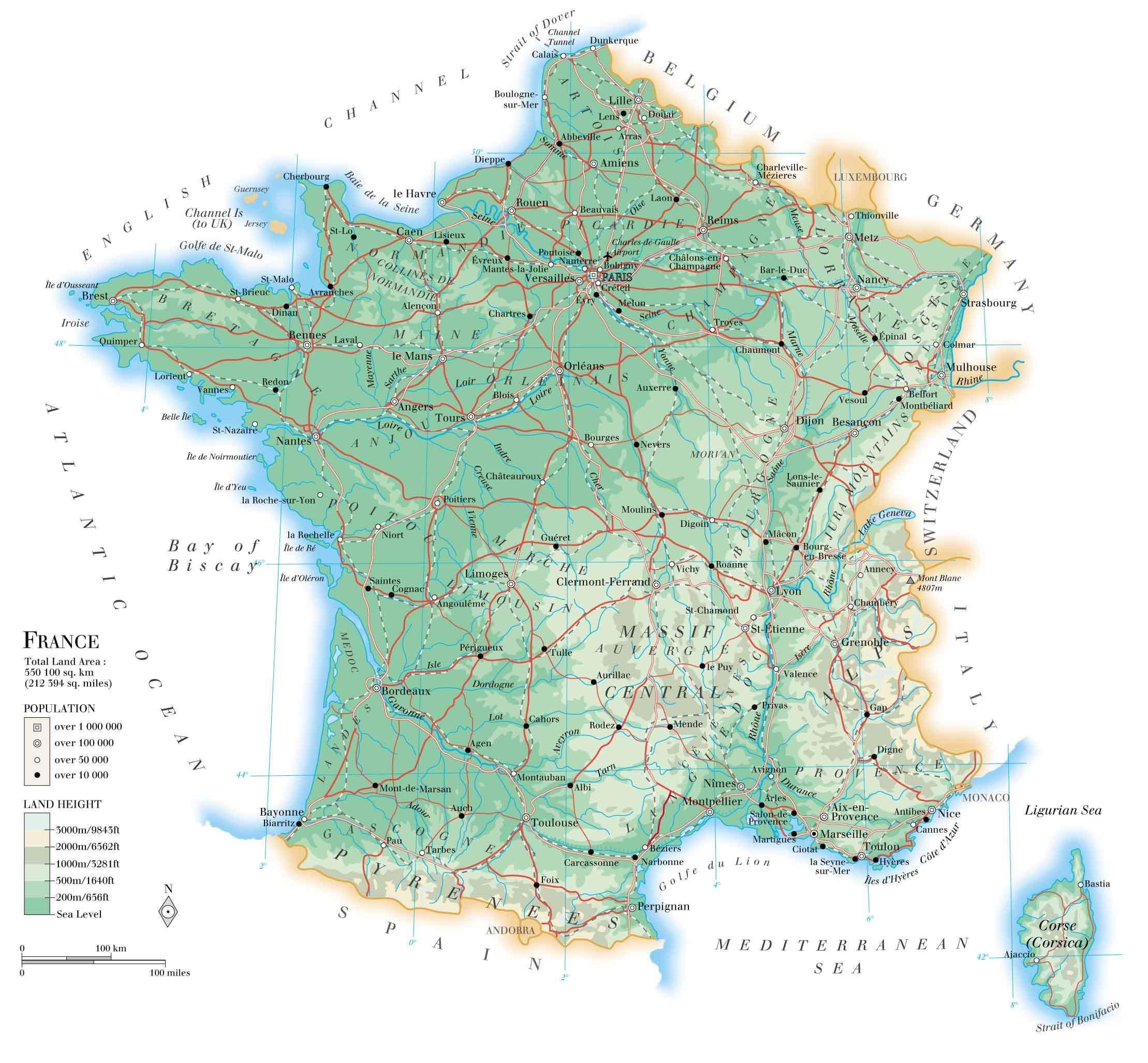 grande-carte-de-france - Photo