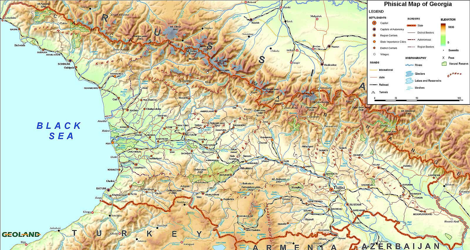 topographical map of georgia with Pays 1379 Carte Physique Georgie on Al maps besides Wegenkaart Landkaart Argentinie Noord Argentina North Uruguay Itmb as well Battlefield Gettysburg Map together with Henry1864map together with Tokio.