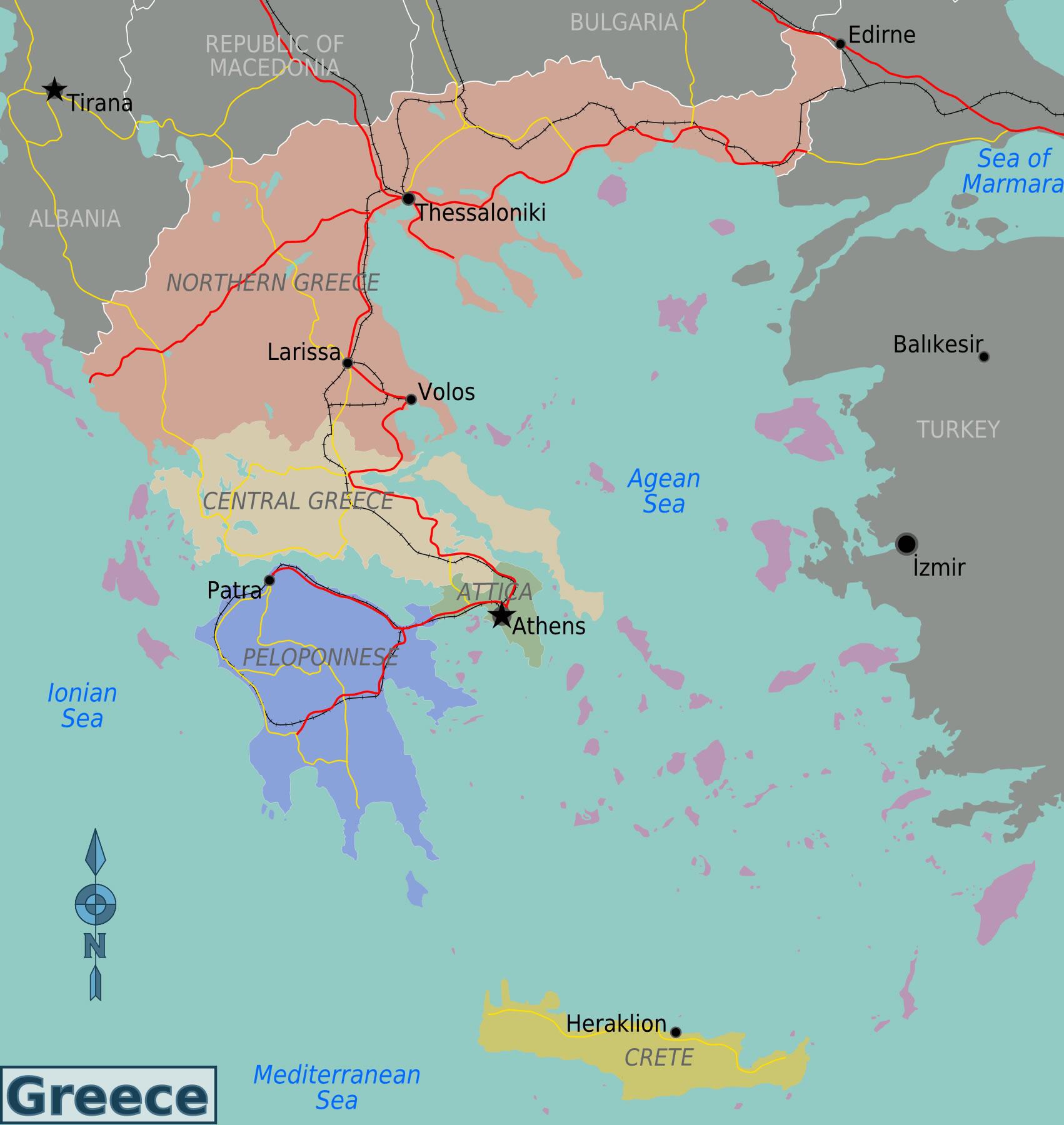 fleuves-a-la-grece-sur-la-carte