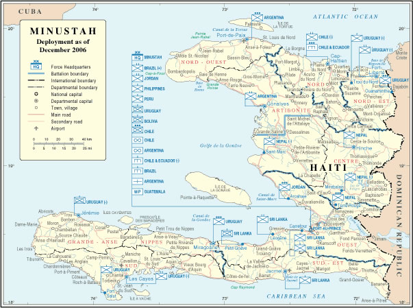 Grande Carte Haiti Grande Carte De Haiti