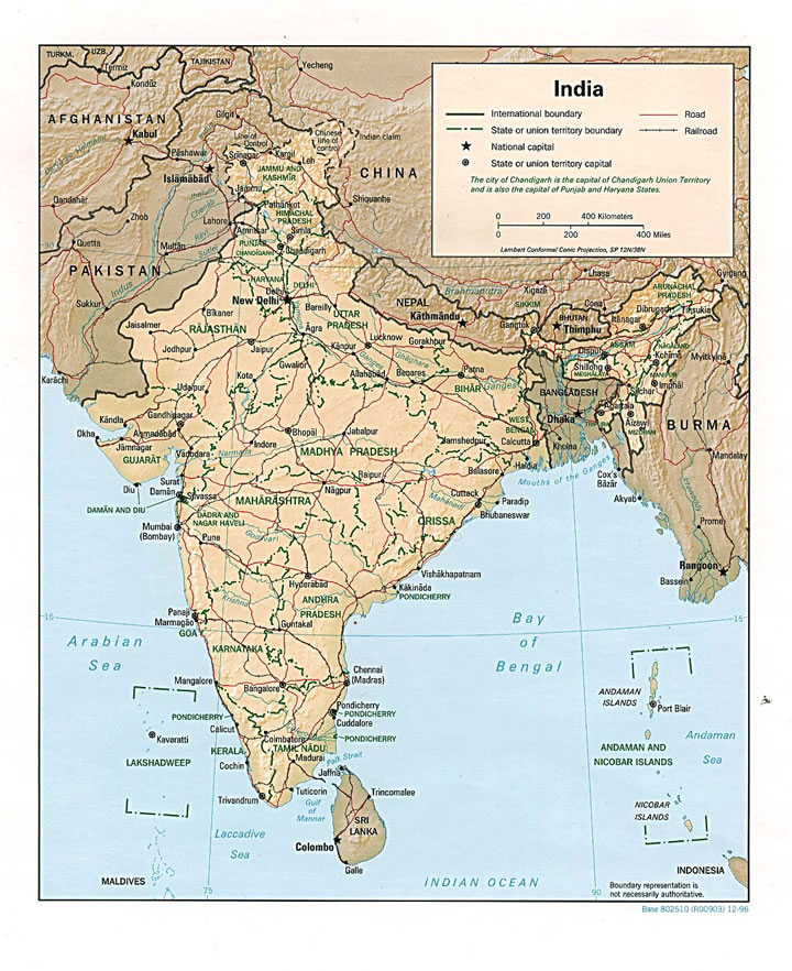 Carte Geographique Indien.Carte Geographique Inde Carte Geographique De L Inde