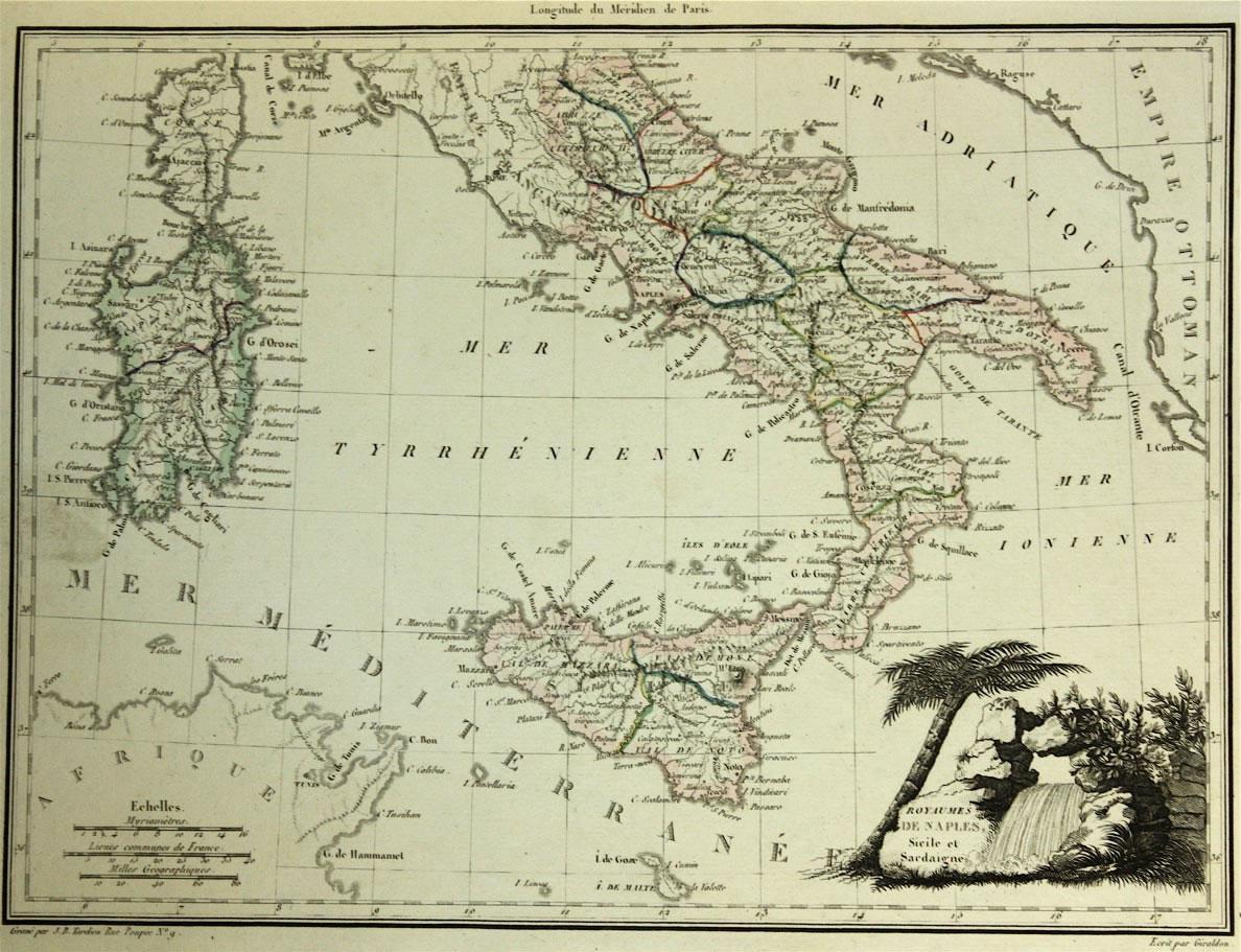 Carte Italie Ancienne.Ancienne Carte Italie Ancienne Carte De L Italie