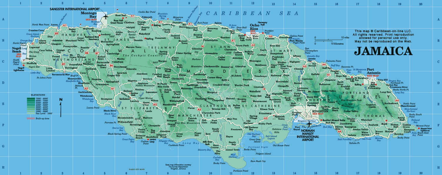 Jamaïque, Jamaïque