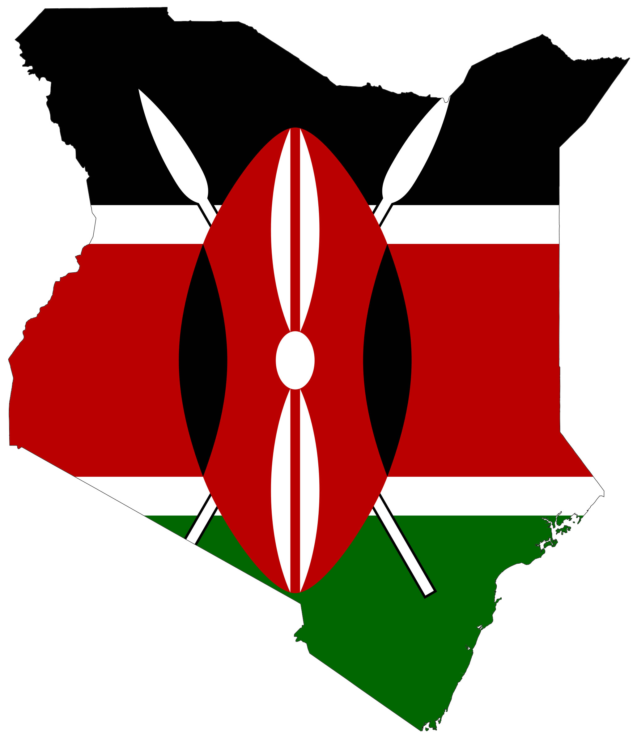 Carte drapeaux kenya carte drapeaux de kenya - Couleur du monde kenya ...