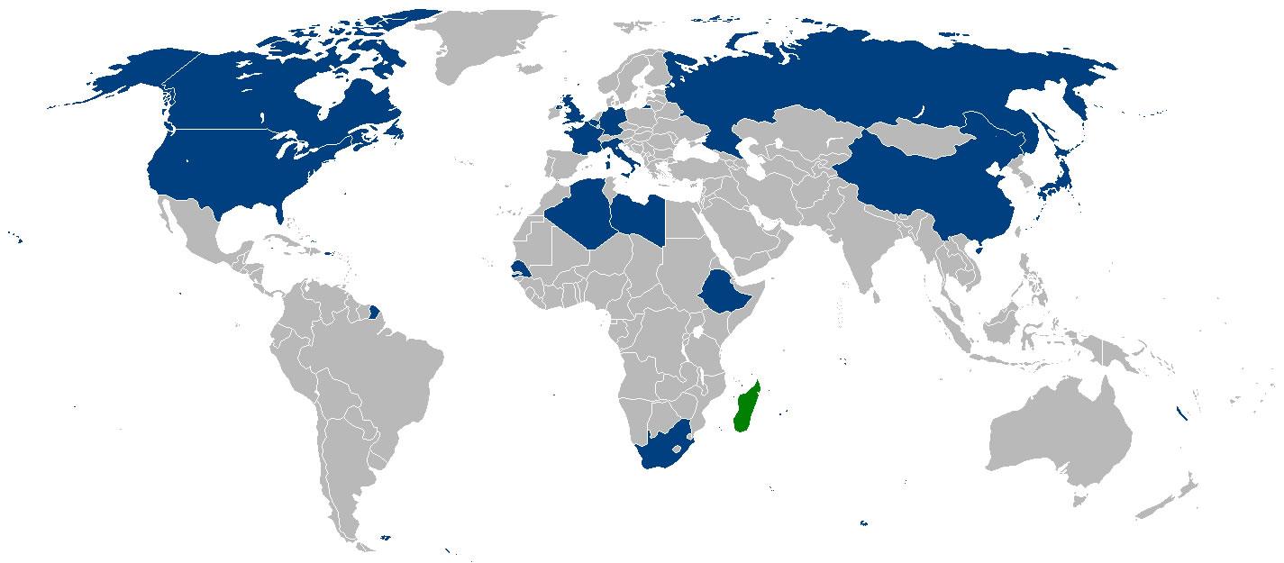 Carte Madagascar Dans Le Monde.Situer Madagascar Sur Carte Du Monde Situer Pays De