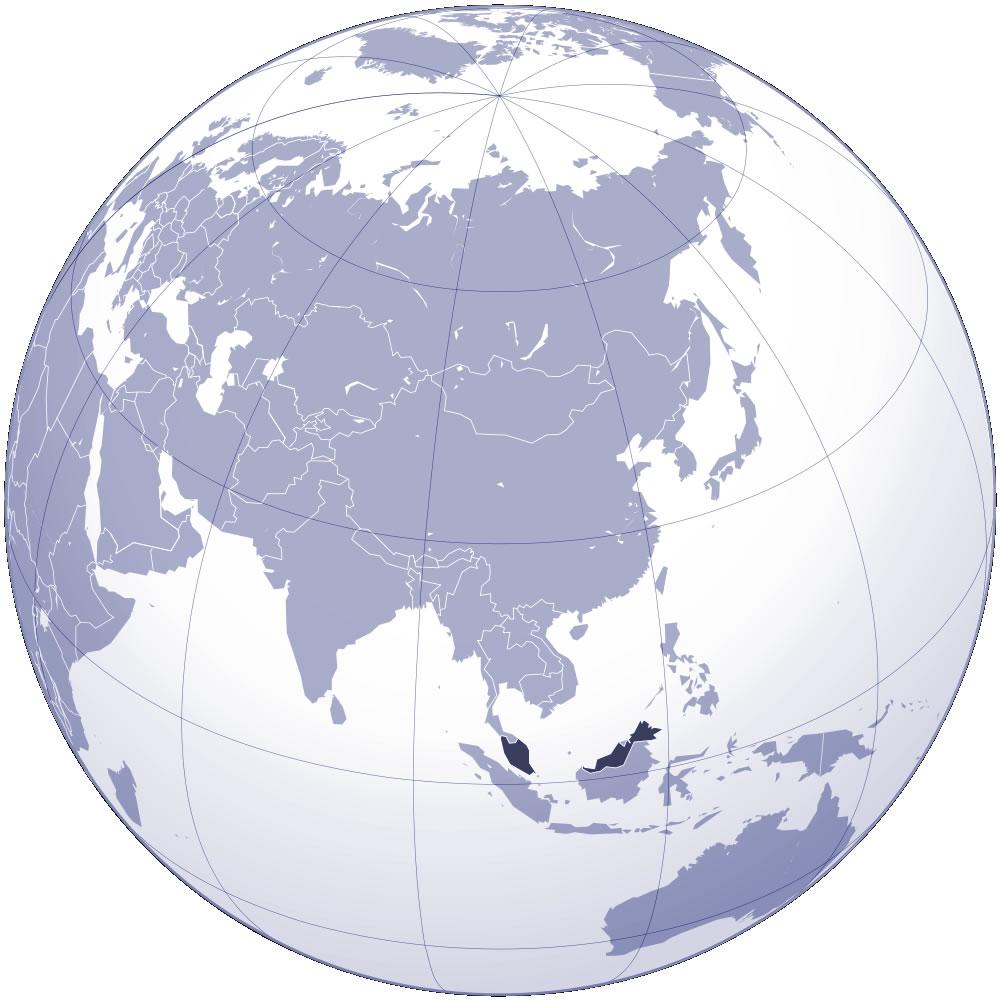 Carte Du Monde Kuala Lumpur.Carte Malaisie Carte De Malaisie