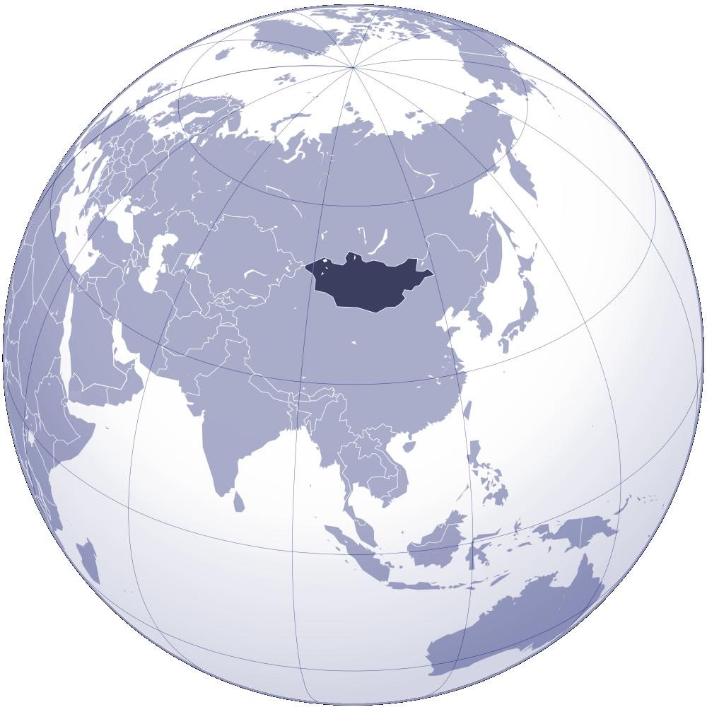 mongolie carte du monde Localiser Mongolie sur carte du monde, Localiser pays de Mongolie