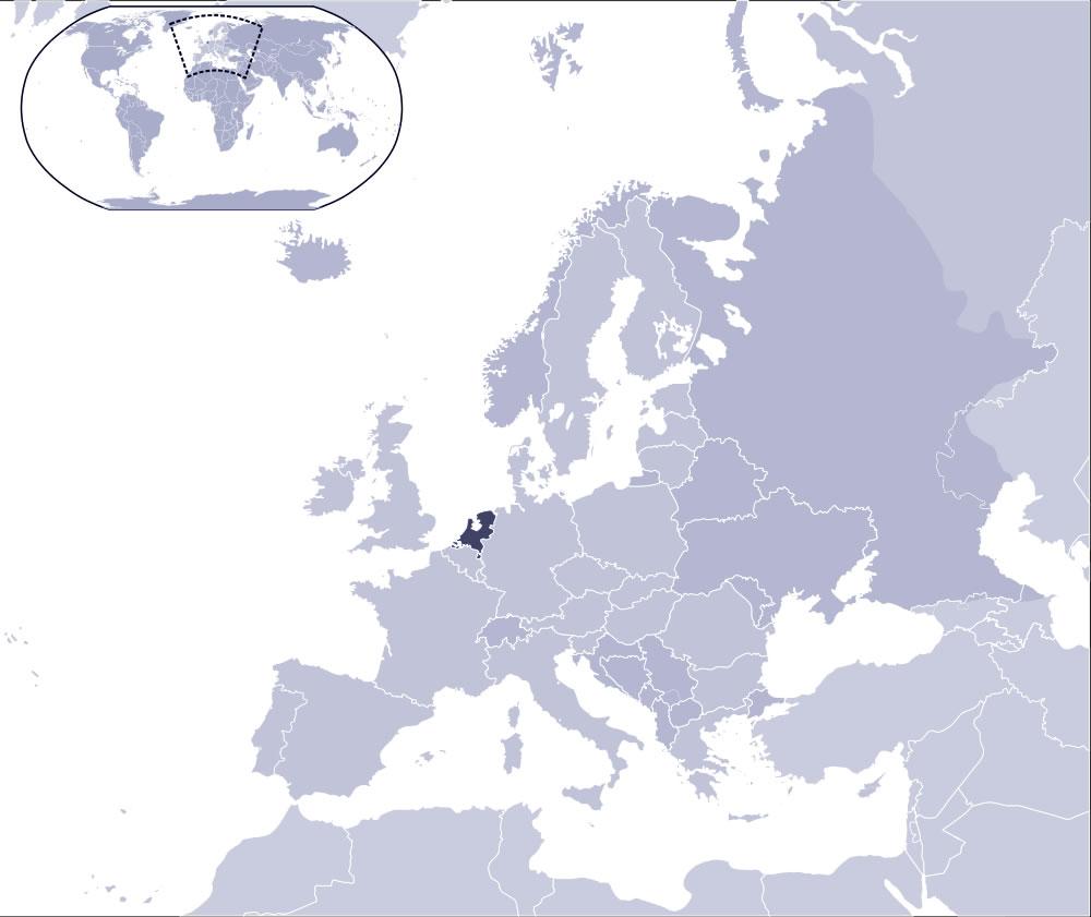 pays-bas-carte-du-monde