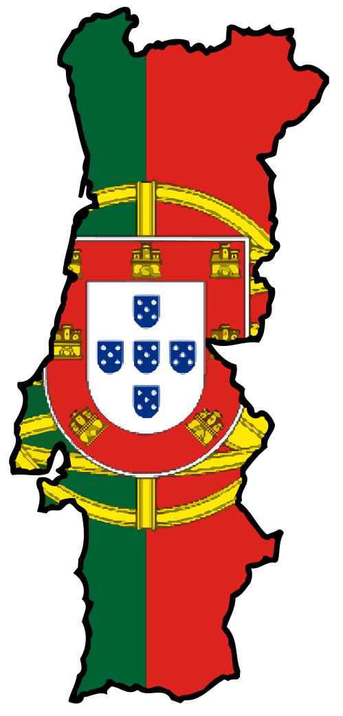 Carte Drapeaux Portugal Carte Drapeaux Du Portugal