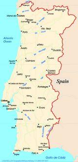 Carte Portugal Carte De Portugal