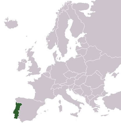 portugal carte du monde - Image