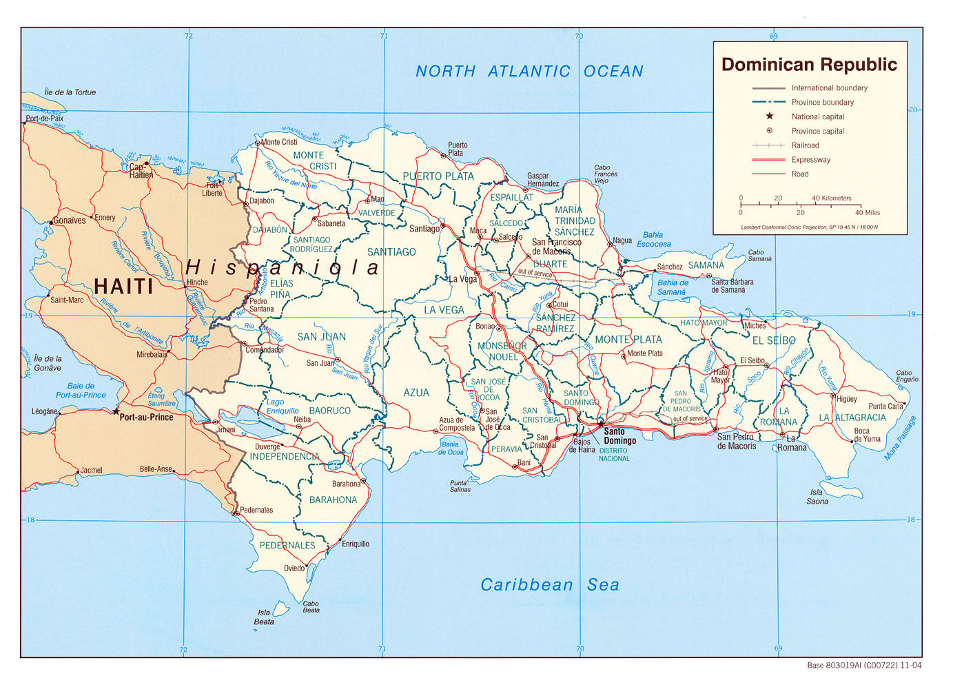 République dominicaine, République dominicaine
