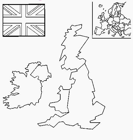 carte du royaume uni vierge Carte Royaume Uni vierge, Carte vierge du Royaume Uni