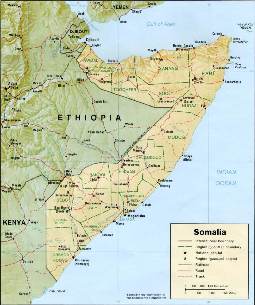 carte relief somalie carte des reliefs de somalie. Black Bedroom Furniture Sets. Home Design Ideas