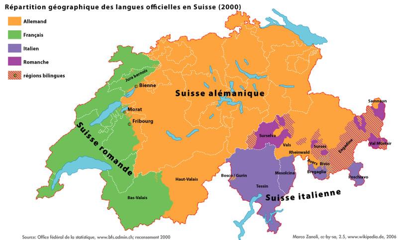 suisse carte du monde - Image