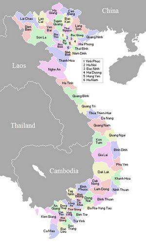 carte du vietnam à imprimer Carte Vietnam, Carte de Vietnam